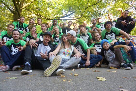 Ein Gruppenfoto des GORILLA Team 2018.